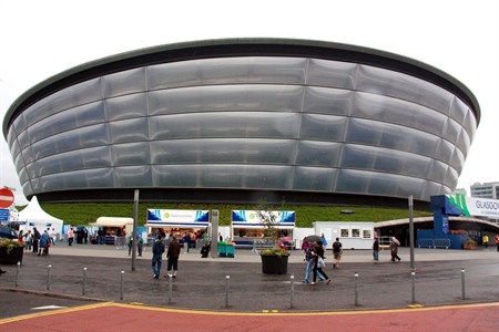 The SSE Hydro - seats 12,000